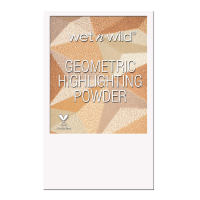 Wet n Wild Пудра-хайлатер Для Лица Geometric Highlighting Powder sun ceremony