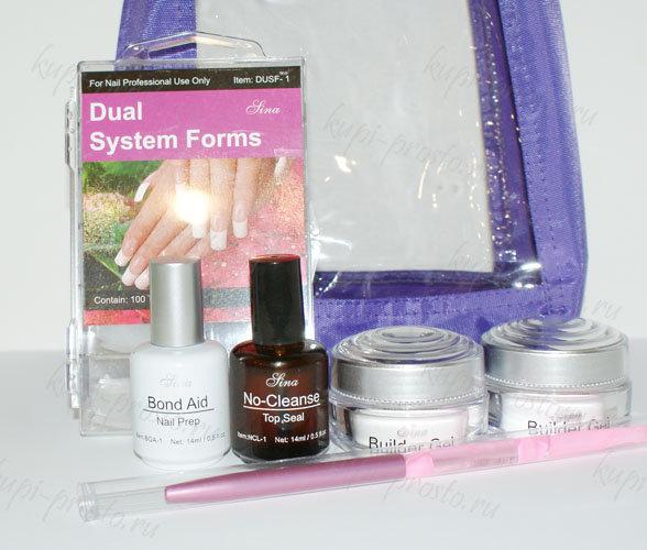 Набор биогеля для укрепления ногтей